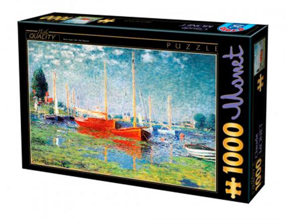 Puzzle D-Toys Argenteuil de 1000 Piezas
