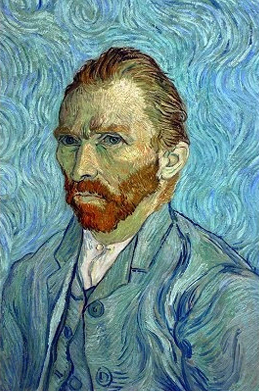 puzzles de Vincent Van Gogh, Puzzle D-Toys Autorretrato de 1000 Piezas