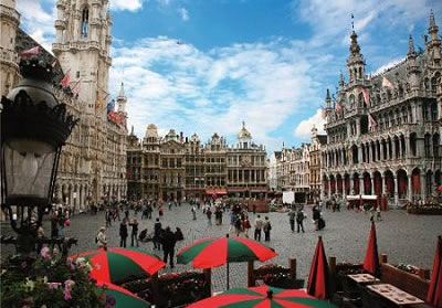 Puzzle D-Toys Bélgica. Bruselas de 1000 Piezas
