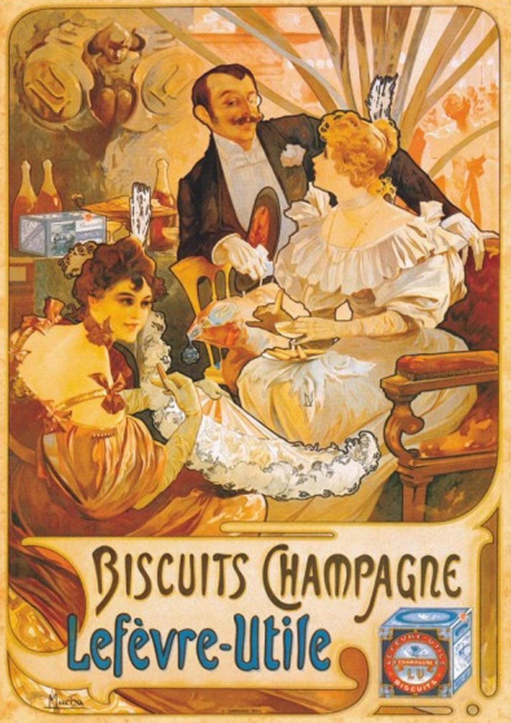Puzzle D-Toys Biscuits Champagne Lefevre-Utile de 1000 Piezas