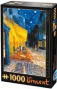 Puzzle D-Toys Café de Noche de 1000 Piezas