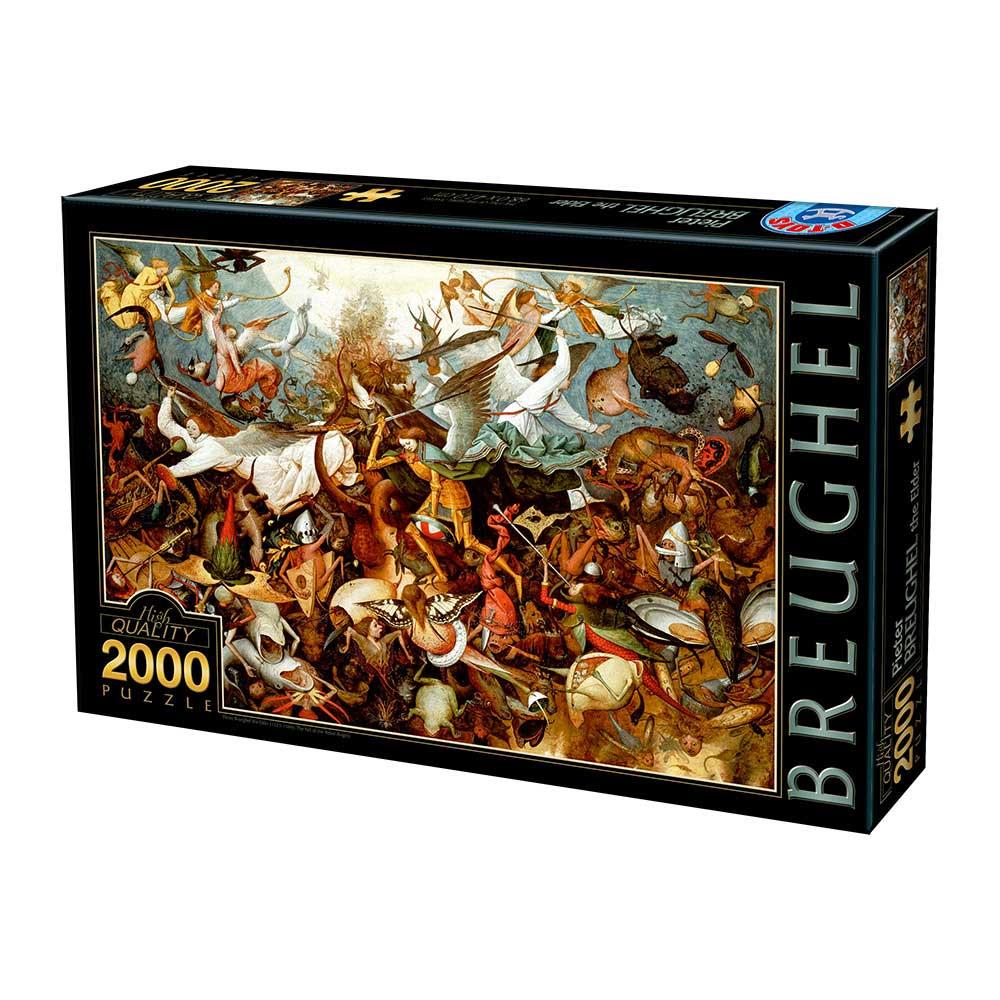 Puzzle D-Toys Caída de los Ángeles Rebeldes de 2000 Piezas
