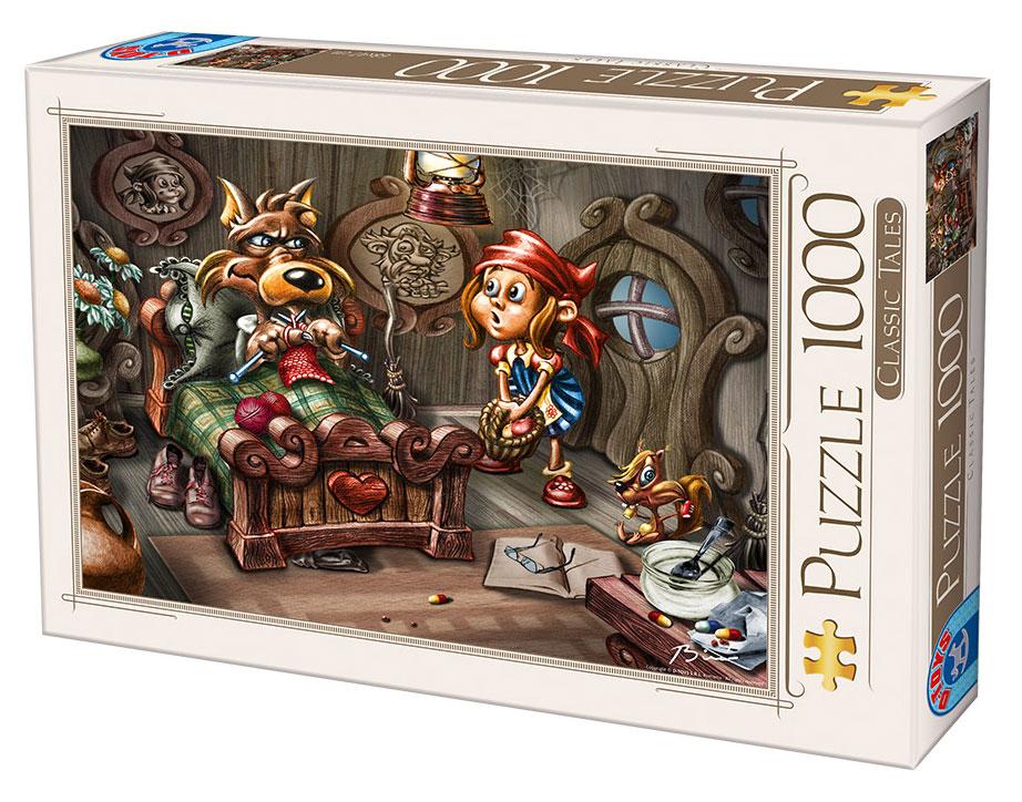 Puzzle D-Toys Caperucita Roja de 1000 Piezas