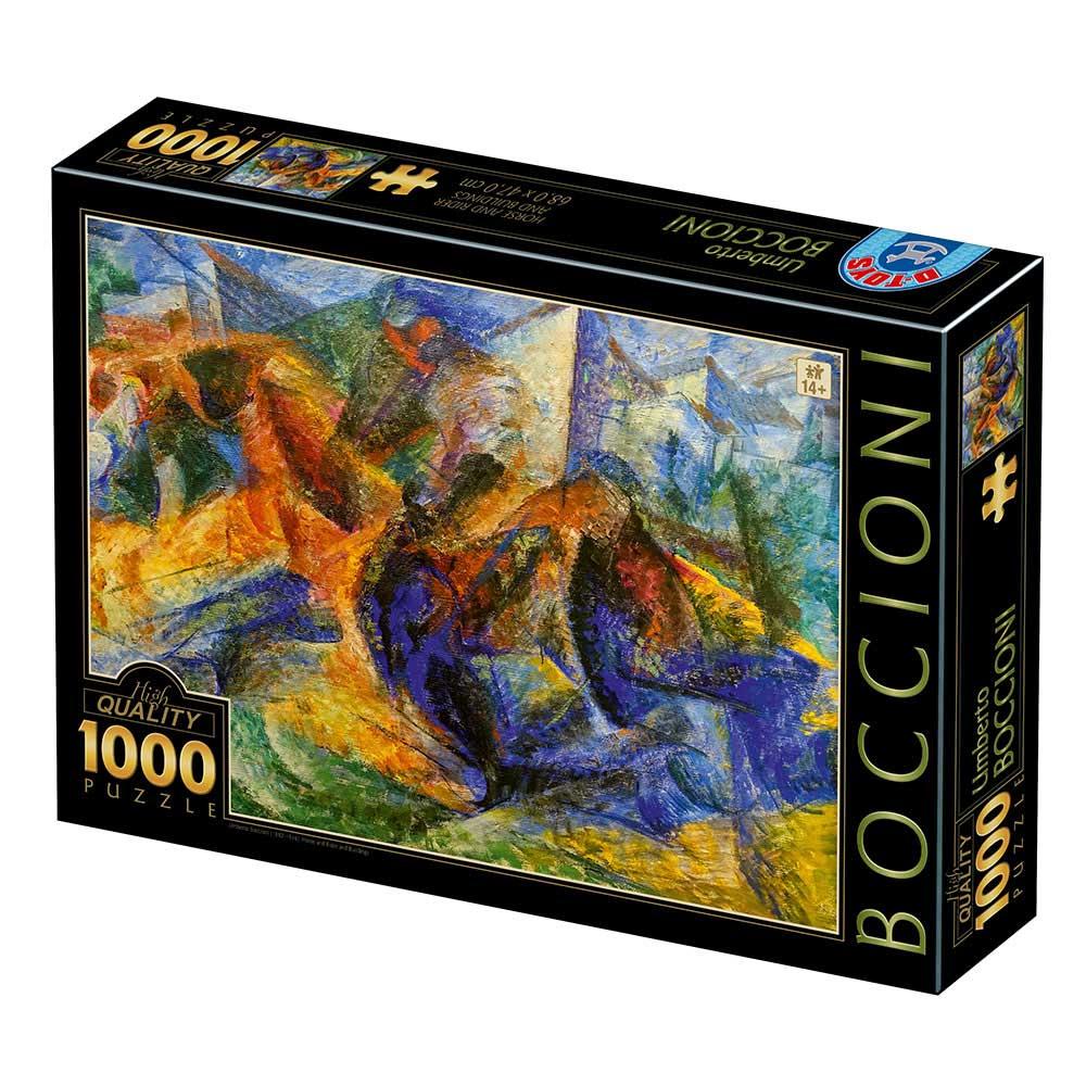 Puzzle D-Toys Casas de Jinetes de 1000 Piezas