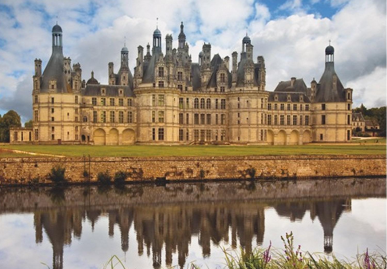 Puzzle D-Toys Castillo de Chambord, Francia de 1000 Piezas