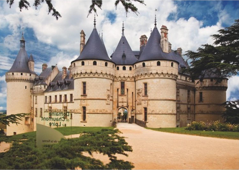 Puzzle D-Toys Castillo de Chaumont, Francia de 1000 Piezas