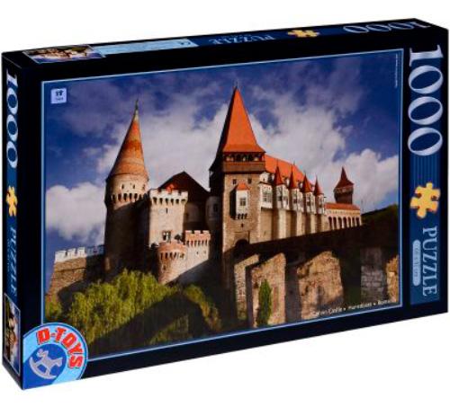 Puzzle D-Toys Castillo de Corvin, Rumanía de 1000 Piezas
