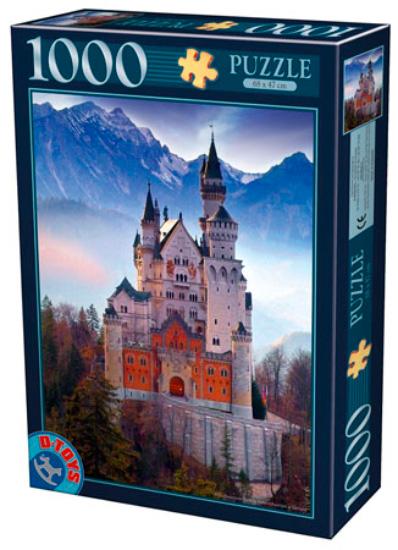 Puzzle D-Toys Castillo de Neuschwanstein en Alemania de 1000 Pie