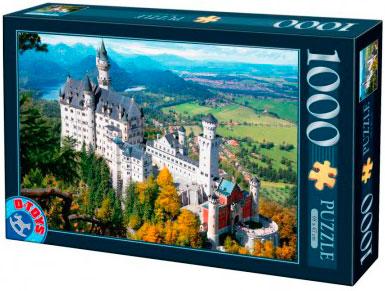 Puzzle D-Toys Castillo del Rey Loco de 1000 Piezas