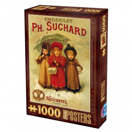 Puzzle D-Toys Chocolate Suchard de 1000 Piezas