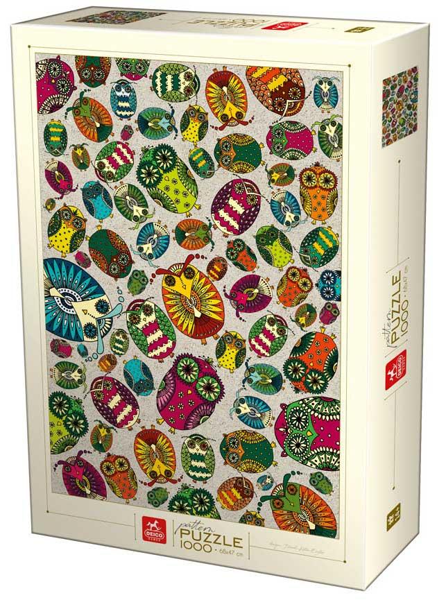 Puzzle D-Toys Colección de Insectos de 1000 Piezas