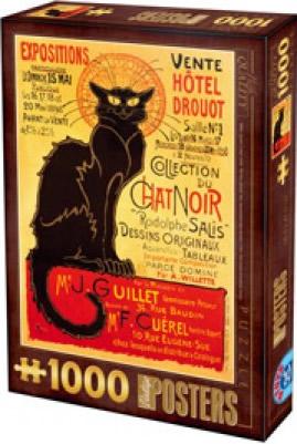 Puzzle D-Toys Colección del Gato Negro de 1000 Piezas