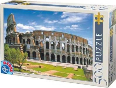 Puzzle D-Toys Coliseo de Roma de 500 Piezas