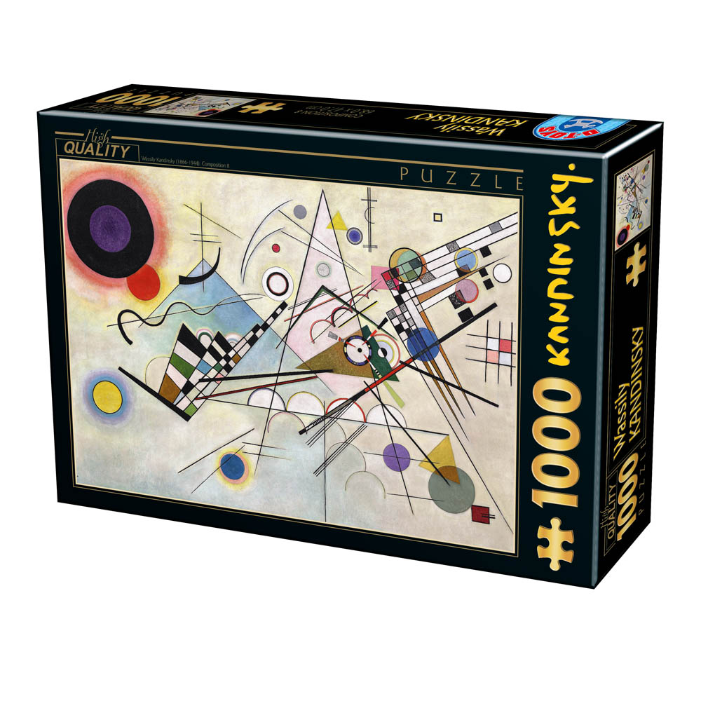 Puzzle D-Toys Composición 8 de 1000 Piezas
