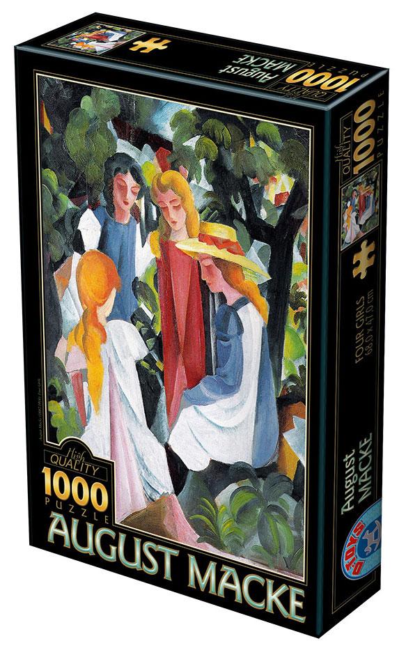 Puzzle D-Toys Cuatro Chicas de 1000 Piezas