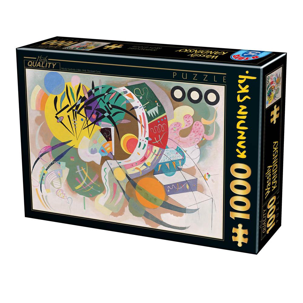 Puzzle D-Toys Curva Dominante de 1000 Piezas