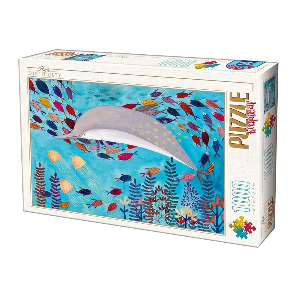 Puzzle D-Toys Delfín de 1000 Piezas