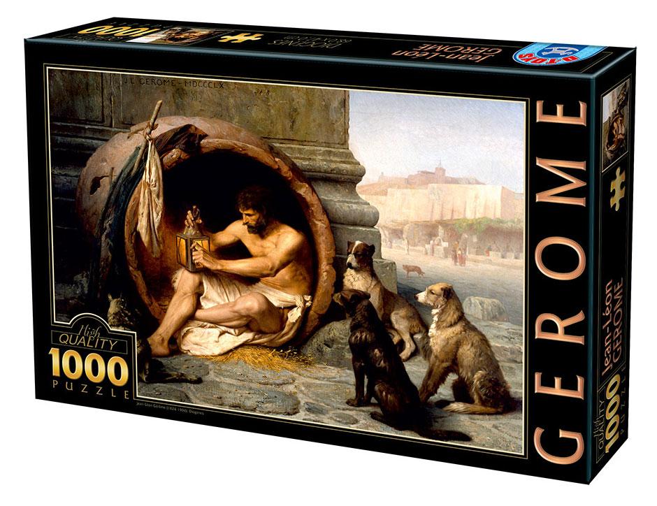 Puzzle D-Toys Diógenes de 1000 Piezas