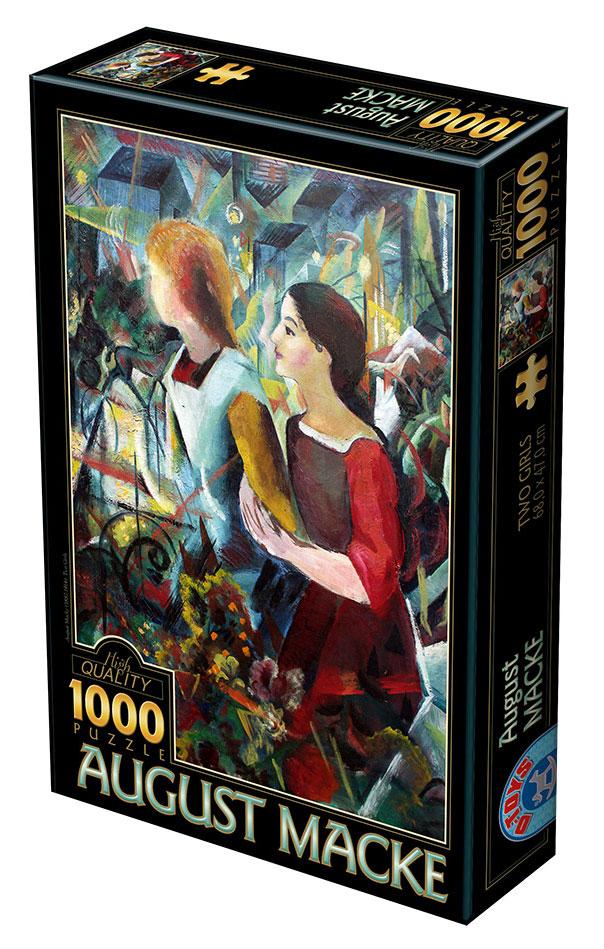 Puzzle D-Toys Dos Chicas de 1000 Piezas