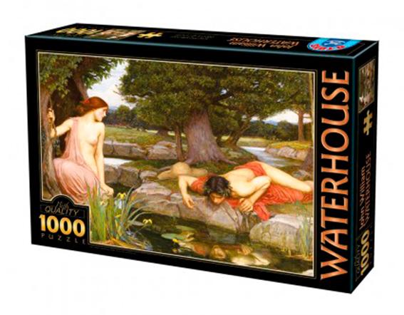 Puzzle D-Toys Eco y Narciso de 1000 Piezas