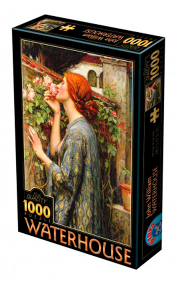 Puzzle D-Toys El Alma de la Rosa de 1000 Piezas