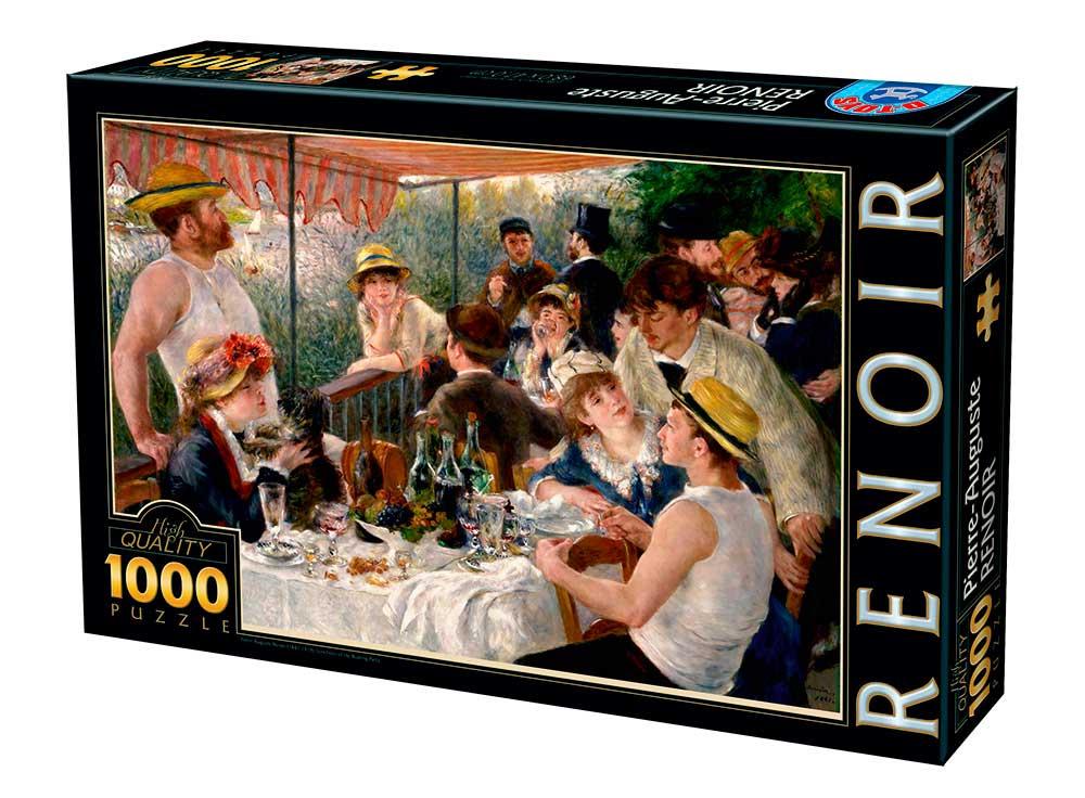Puzzle D-Toys El Almuerzo de los Remeros de 1000 Piezas