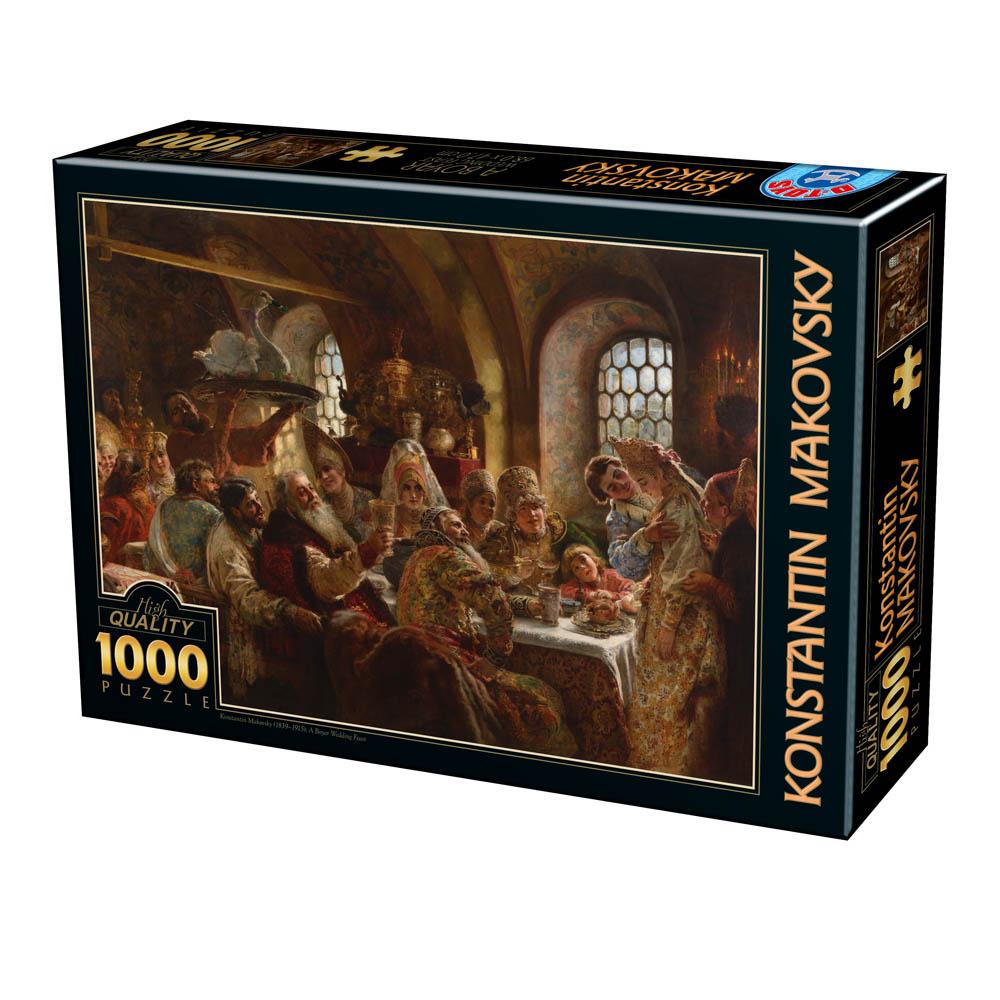 Puzzle D-Toys El Banquete de Boda de 1000 Piezas