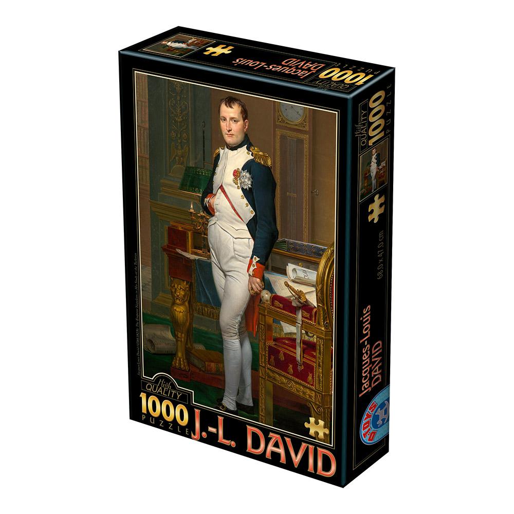 Puzzle D-Toys El Emperador Napoleón en su Estudio de 1000 Pzs