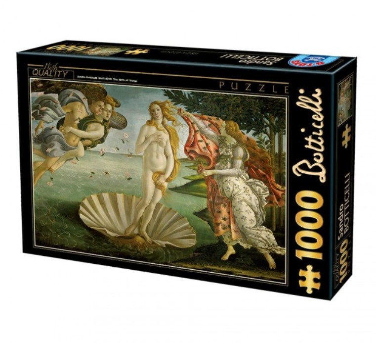 Puzzle D-Toys El Nacimiento de Venus de 1000 Piezas