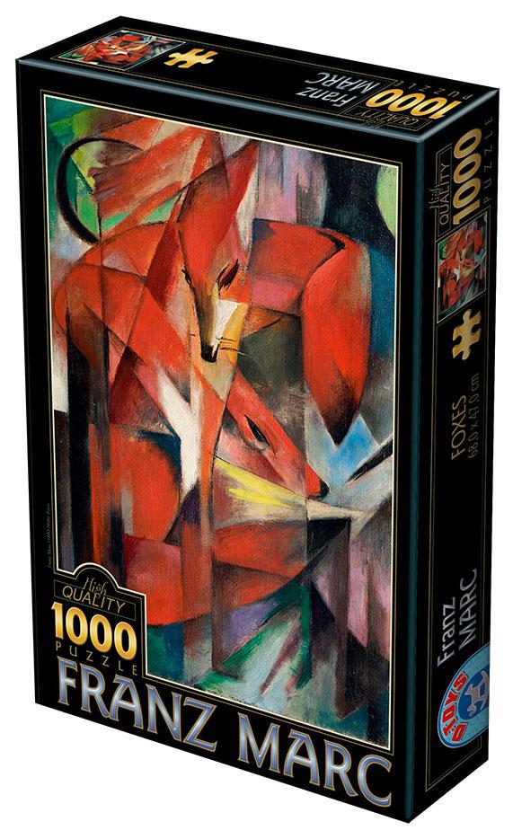 Puzzle D-Toys El Zorro de 1000 Piezas