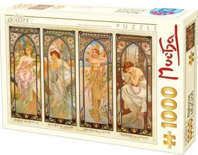 Puzzle D-Toys Estaciones del Año de 1000 Piezas