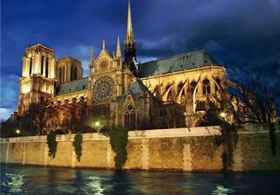 Puzzle D-Toys Francia, Notre Dame de París de 1000 Piezas