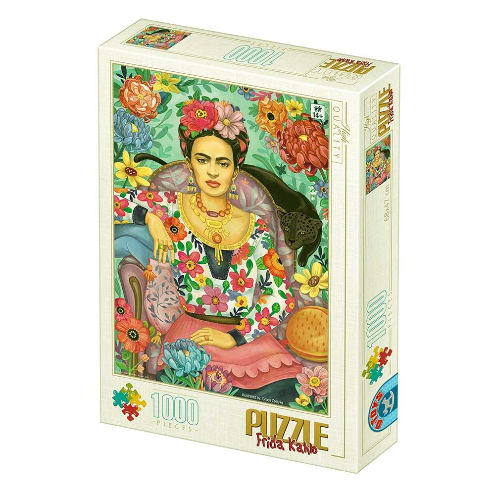 Puzzle D-Toys Frida Khalo de 1000 Piezas