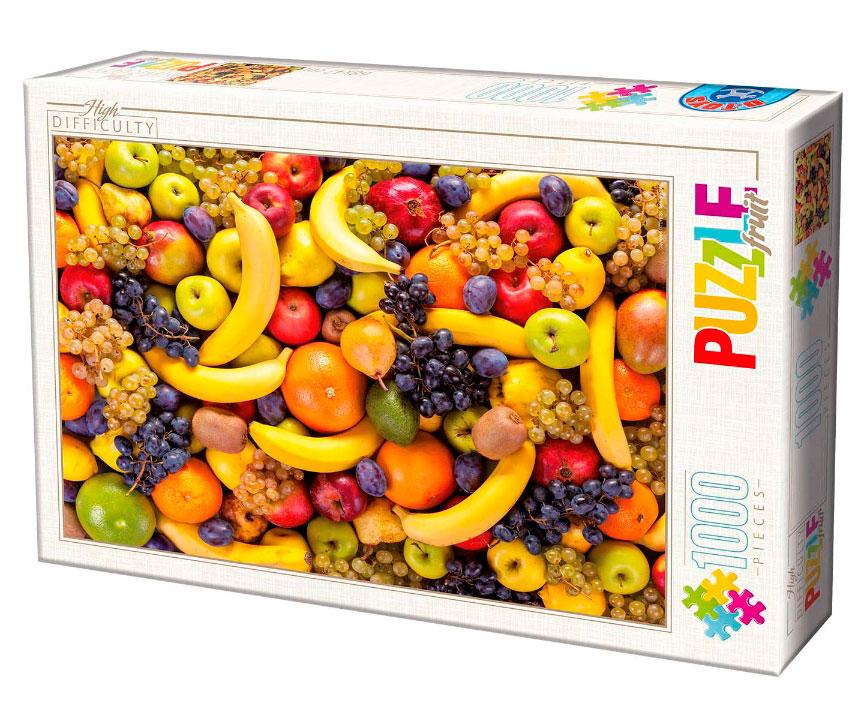 Puzzle D-Toys Frutas de 1000 Piezas