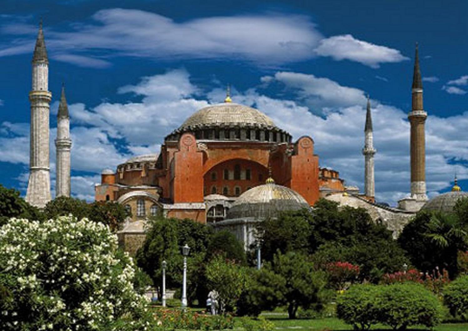 Puzzle D-Toys Hagia Sophia,  Estambul - Turquía de 500 Piezas