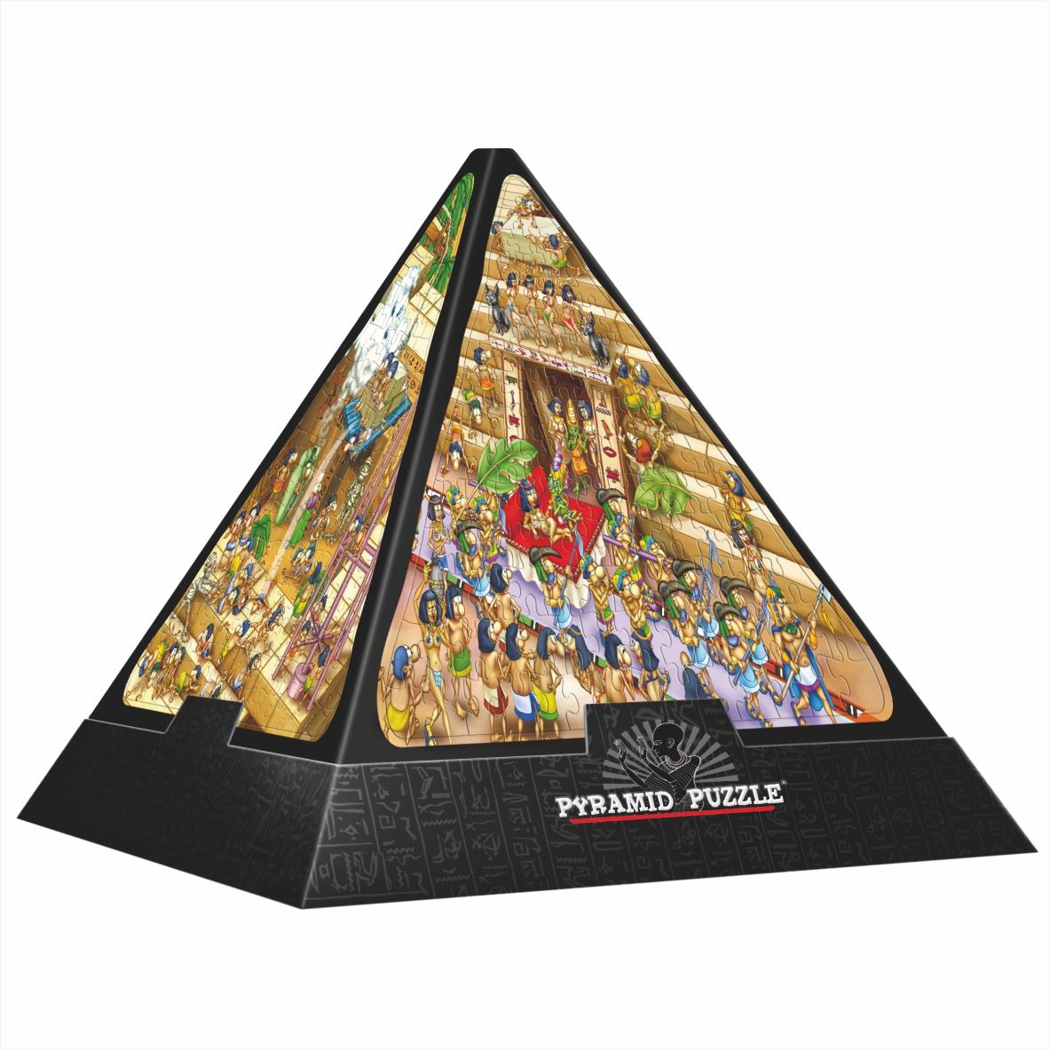 Puzzle D-Toys Historieta. Egipto 3D 504 Piezas