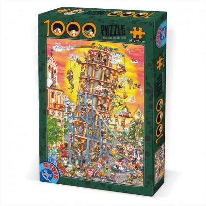 Puzzle D-Toys Historieta Pisa de 1000 Piezas