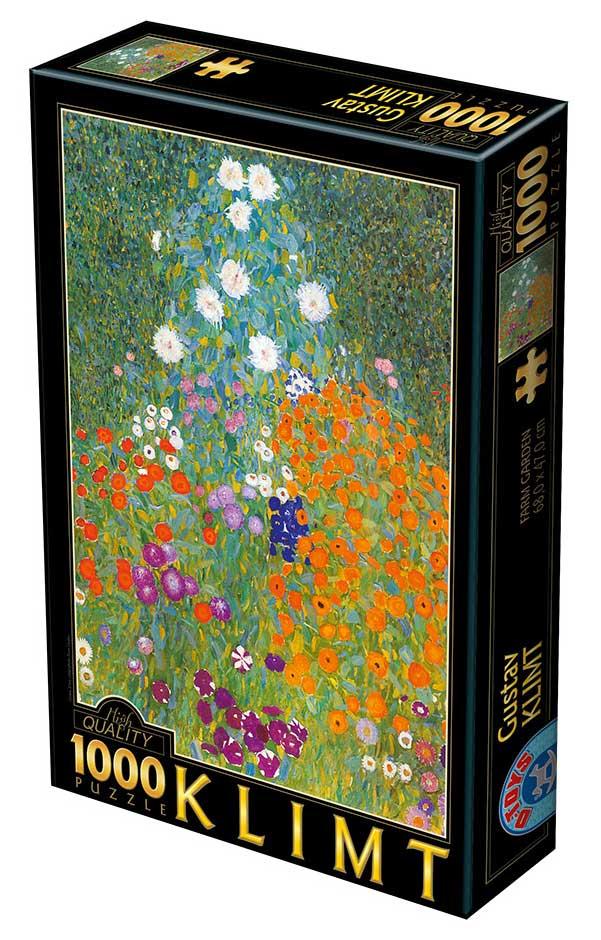 Puzzle D-Toys Jardín de Granja 1000 Piezas