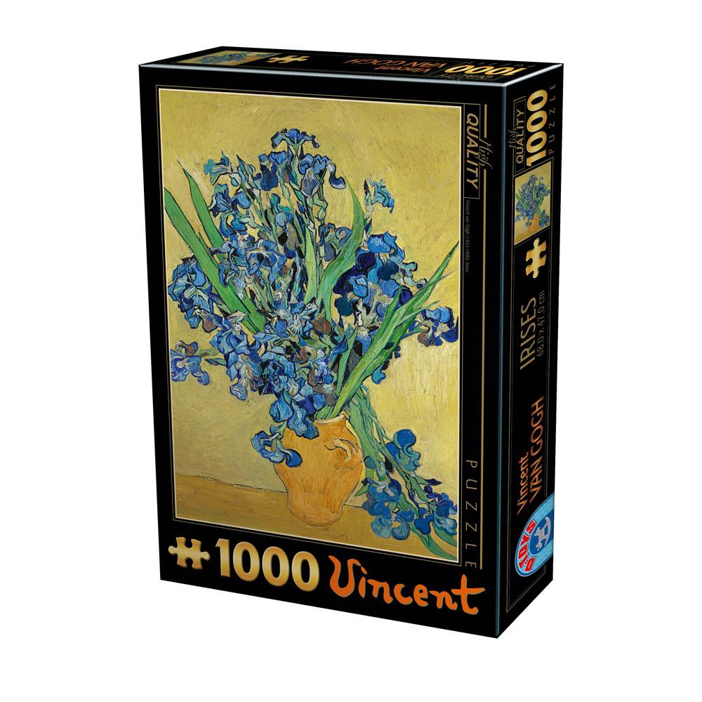Puzzle D-Toys Jarrón de Lirios de 1000 Piezas