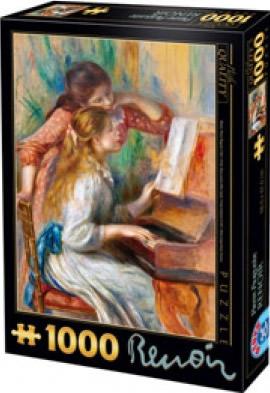 Puzzle D-Toys Jovencitas al Piano de 1000 Piezas
