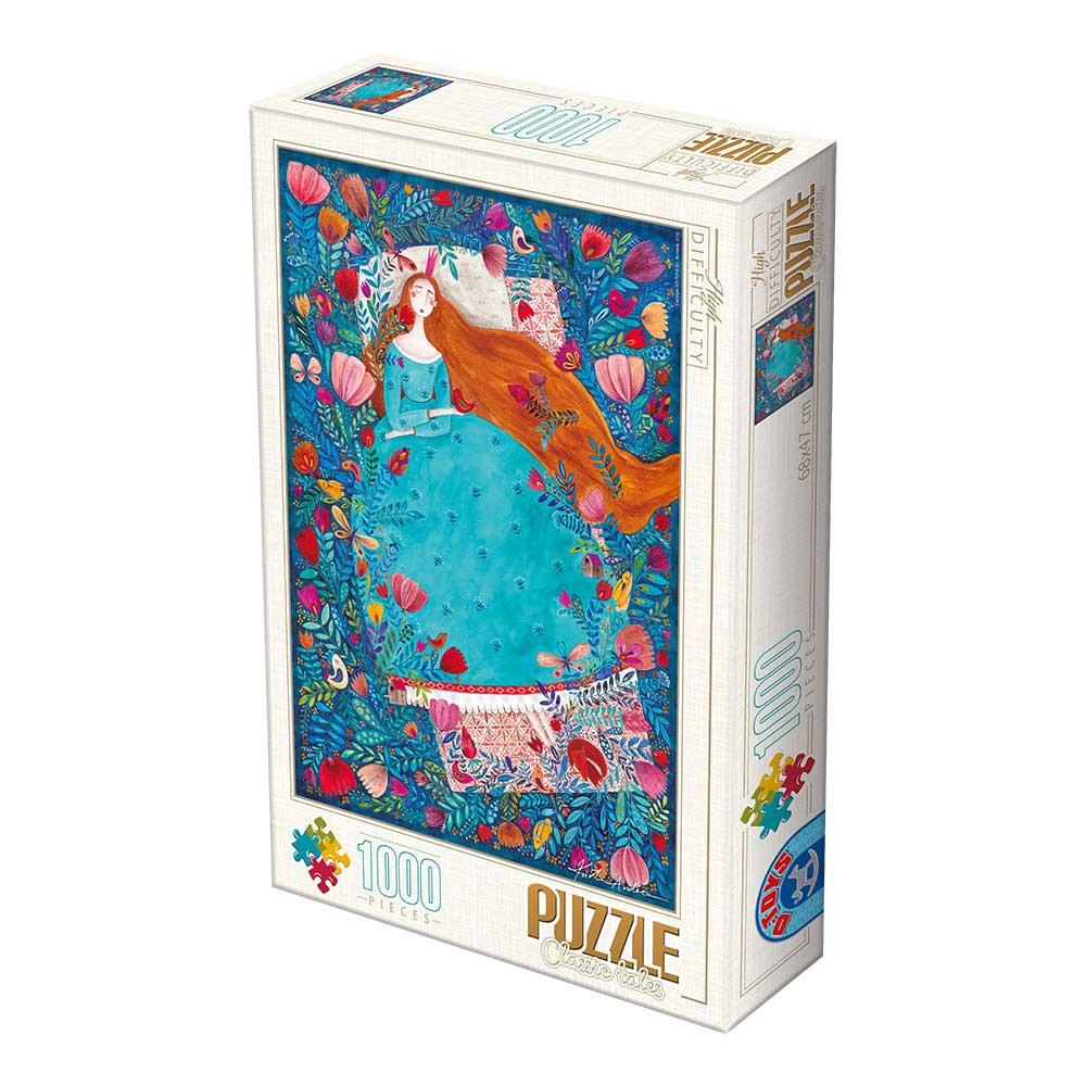 Puzzle D-Toys La Bella Durmiente de 1000 Piezas