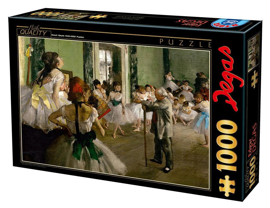 Puzzle D-Toys La Clase de Baile de 1000 Piezas
