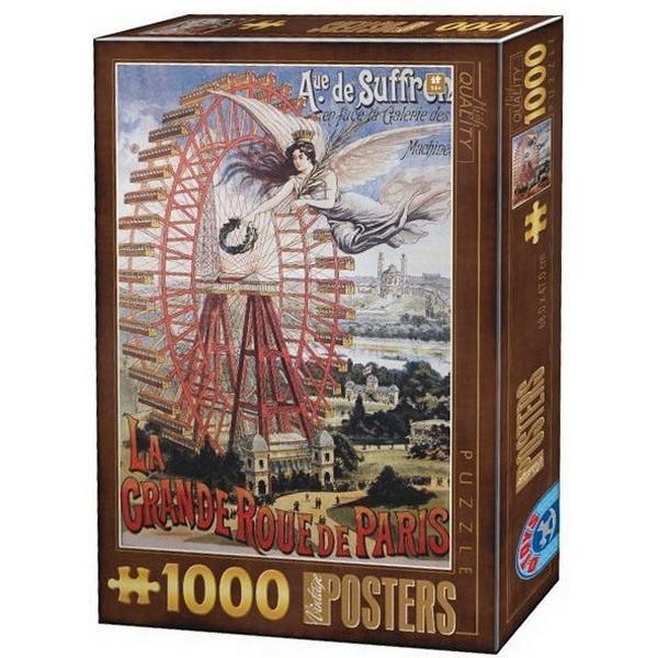 Puzzle D-Toys La Gran Roue de París de 1000 Piezas
