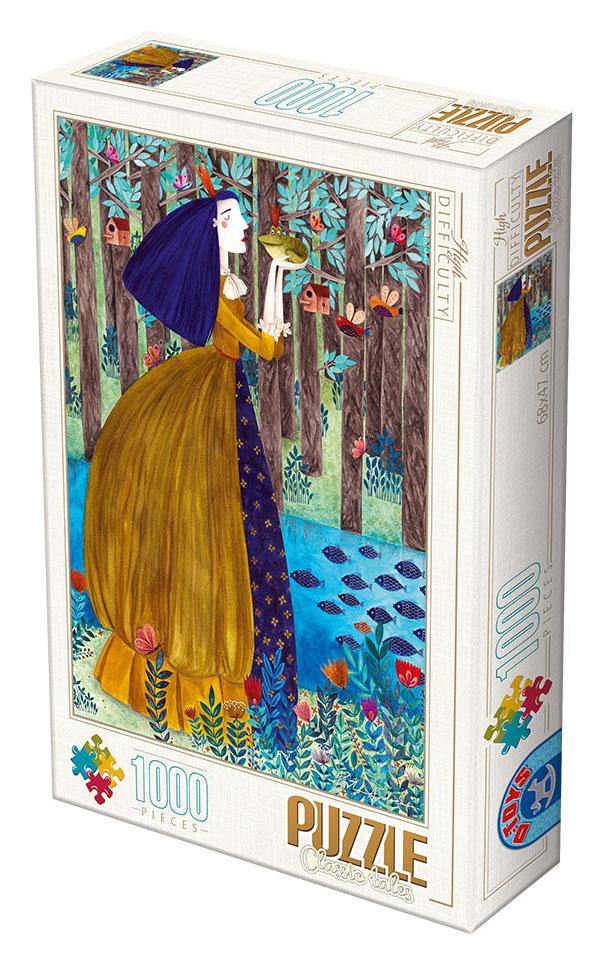 Puzzle D-Toys La Princesa y El Sapo de 1000 Piezas