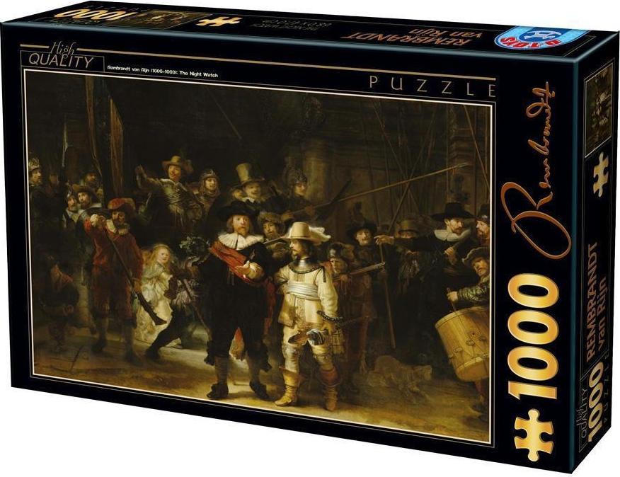 Puzzle D-Toys La Ronda Nocturna de 1000 Piezas
