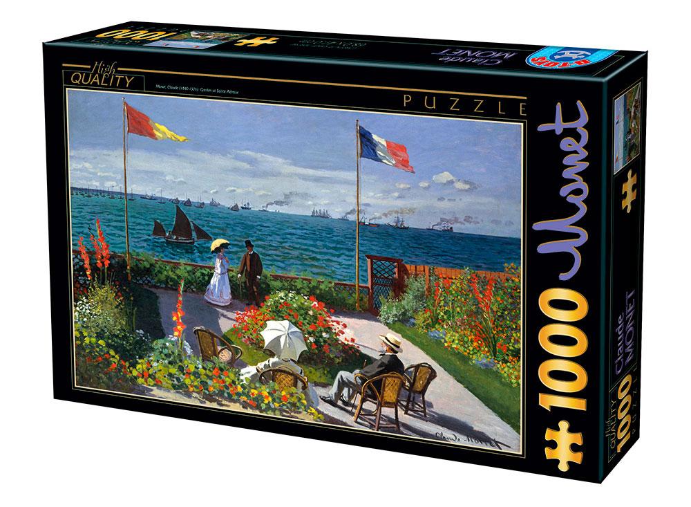 Puzzle D-Toys La Terraza de Sainte-Adresse de 1000 Piezas