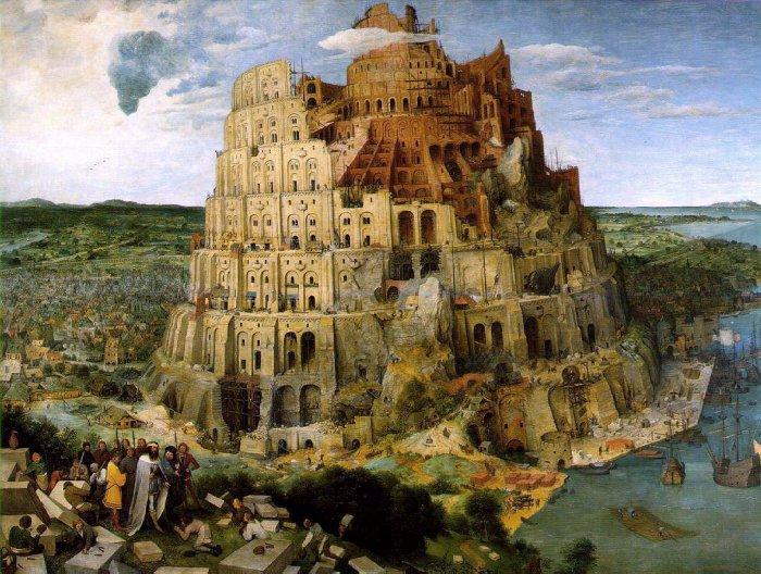 Puzzle D-Toys La Torre de Babel de 1000 Piezas