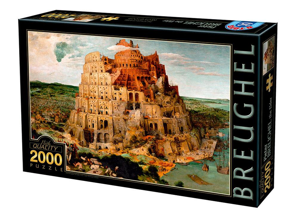 Puzzle D-Toys La Torre de Babel de 2000 Piezas