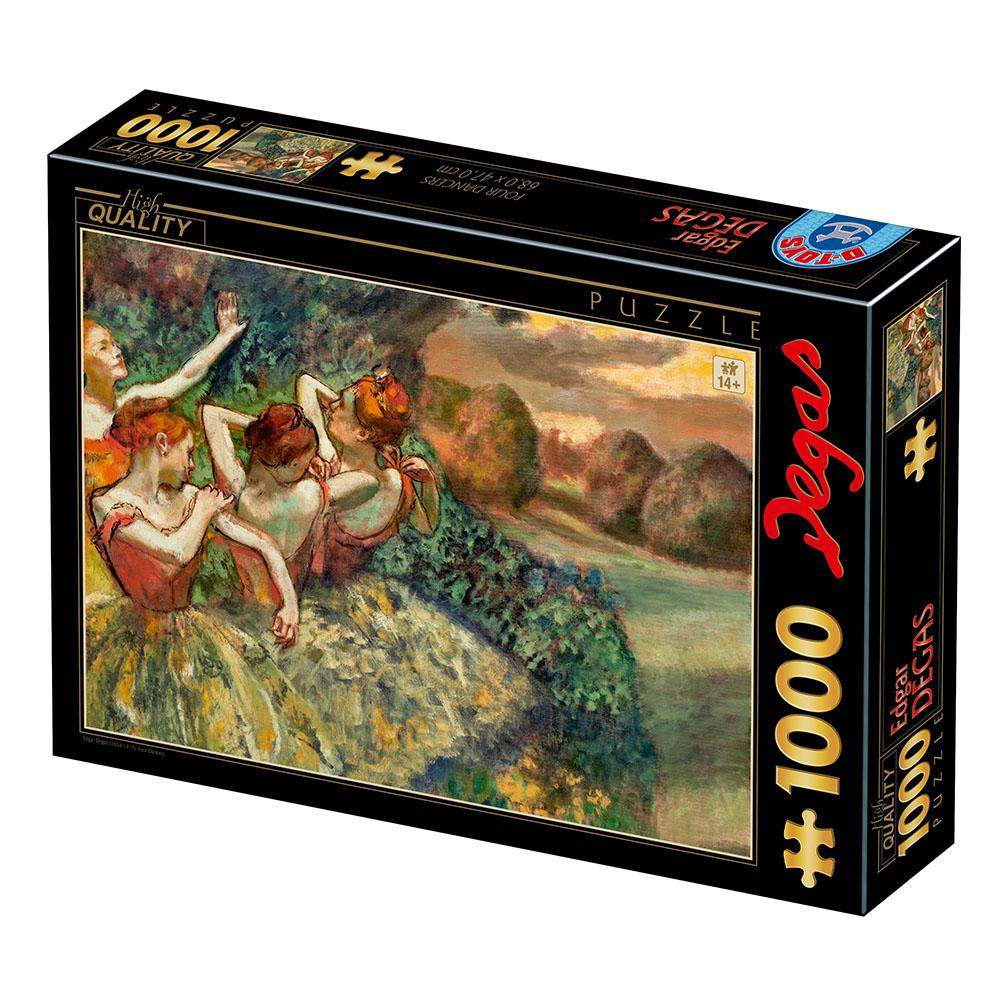 Puzzle D-Toys Las Cuatro Bailarinas de 1000 Piezas