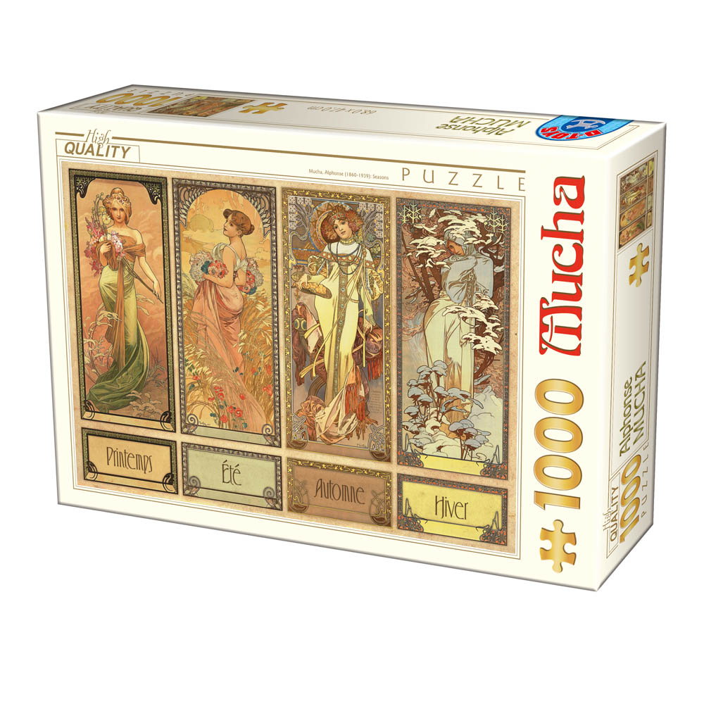 Puzzle D-Toys Las Cuatro Estaciones de 1000 Piezas
